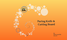 Paring Knife & Cutting Board