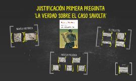 JUSTIFICACIÓN A TRAVÉS DE TEXTOS DE LOS TIPOS NOVELAS PRESEN
