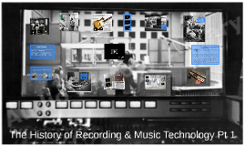The History of Recording Pt1; Music Technology Pt 1