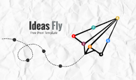 Copy of Ideas Fly - Free Prezi Template