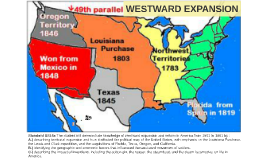 United States Westward Expansion
