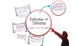 Fallacies of Thinking