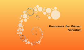 Copy of Estructura  del  Género Narrativo