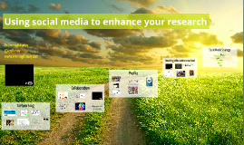 Using social media to enhance your research