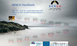 BENCH handbook for print