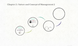Chapter 2 : Nature and Concept of Management
