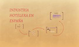 INDUSTRIA HOTELERA EN ESPAÑA