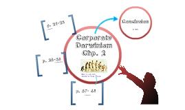 Corporate Darwinism Chp.2