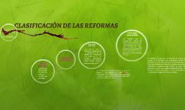 TIPOS DE REFORMAS