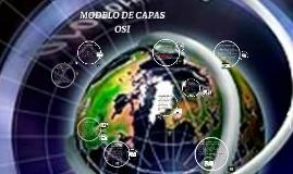MODELO DE CAPAS OSI