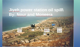 Jiyeh power station oil spill