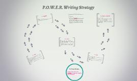 P.O.W.E.R. Writing Strategy