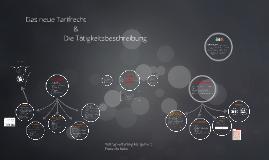 Copy of Das neue Tarifrecht & Tätigkeitsbeschreibung
