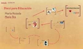 Prezi para Educación