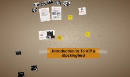 Introduction to To Kill a Mockingbird