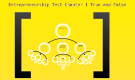 entrepreneurship chapter 1 test