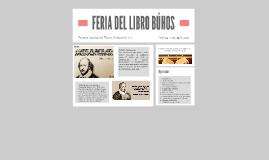 FERIA DEL LIBRO BÚHOS