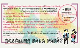 Copy of Coaching para papás