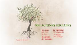 RELACIONES SOCIALES