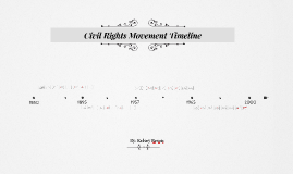 Copy of Copy of Civil Rights Movement Timeline