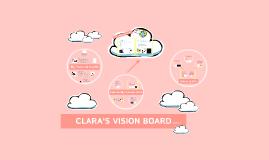 Clara's Vision Board