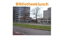Bibliotheeklunch
