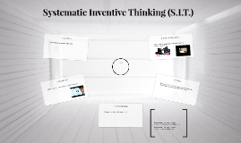 Systematic Inventive Thinking