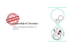 Censorship & Literature