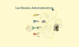 Los Estados Administrativos