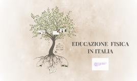 EDUCAZIONE IN ITALIA