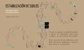 Copy of Estabilización de suelos