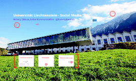 Universität Liechtenstein - Social Media