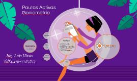 Pautas Activas y Goniometria