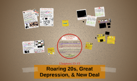 Roaring 20s, Great Depression, & New Deal