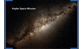 Kepler Space Mission