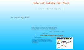 Copy of internet safety for kids