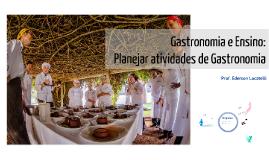Gastronomia e Ensino