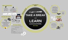 TAKE A BREAK & LEARN - July 2014