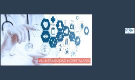 VULNERABILIDAD HOSPITALARIA