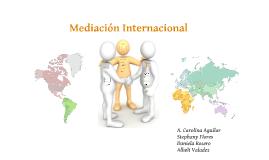 Mediación Internacional