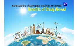2016 MSIs and Study Abroad
