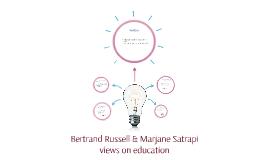 Bertrand Russell & Marjane Satrapi