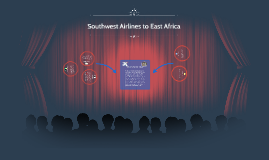 Southwest Airlines to East Africa