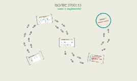 ISO/IEC 27001:13