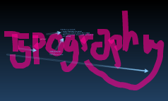 year 7 - Typography lesson