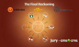 Umbraco to WordPress. The Final Reckoning