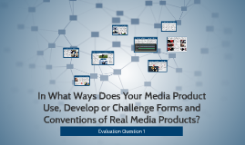 In What Ways Does Your Media Product Use,