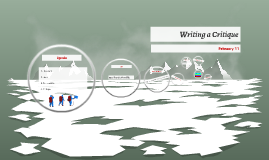 Writing a Critique