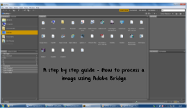 How to process an image