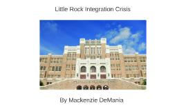 Little Rock Integration Crisis